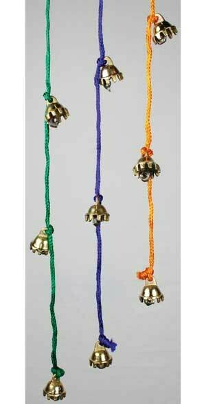 """Bells Celestial String Assorted Colors  1/2 """""""