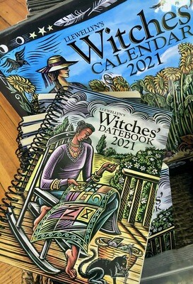 Witches Datebook 2022 Llewellyn