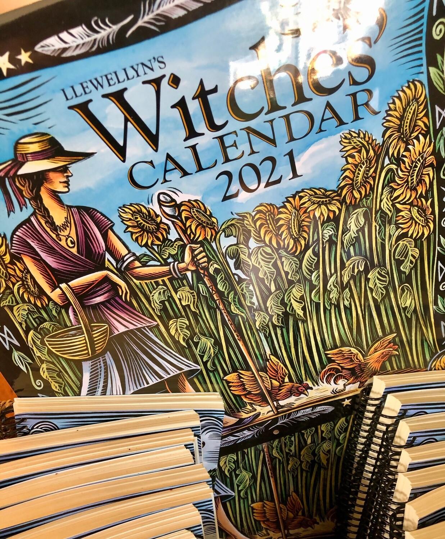 Witches' Calendar 2021 Llewellyn