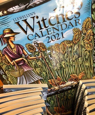 Witches' Calendar 2021 Llewellyn