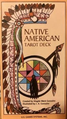 Native American Tarot Deck, Magda Gonzalez