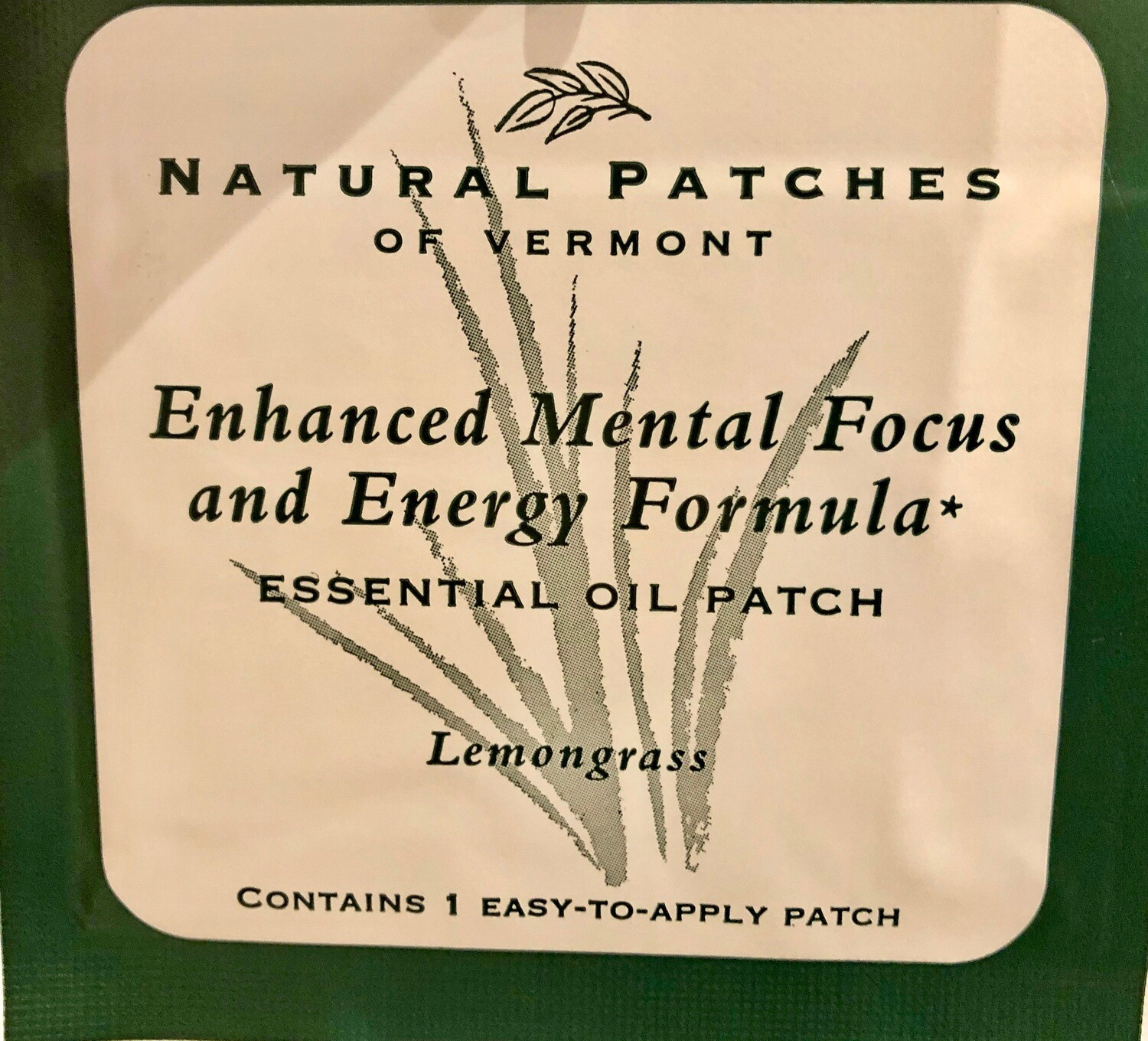 Patches  Mental Focus/Energy TIN