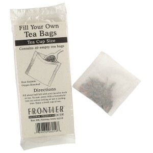 Tea Bags Fill Your Own Heat Seal Tea Pot Bags