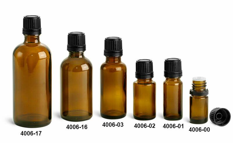 Bottle Amber 2 Dram