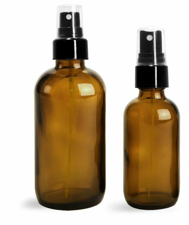 Bottle Amber Spray 2 oz.