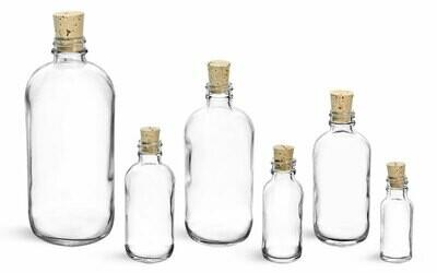 Bottle w/Cork 4 Dram