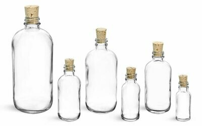 Bottle w/Cork 2 Dram