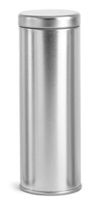 Tin Cylinder 8 oz.