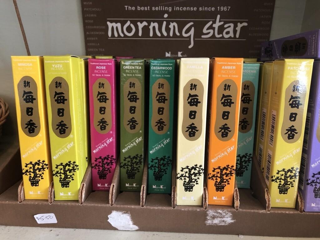 Sandalwood Morning Star Incense