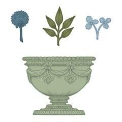 Die Large Floral Urn