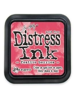 Distress Oxide Pad 3x3 Festive Berries