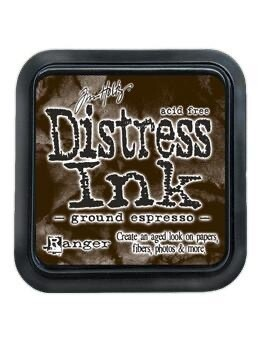 Distress Oxide Pad 3x3 Ground Espresso