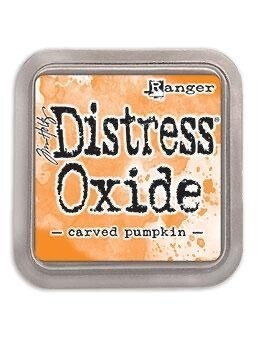 Distress Oxide Pad 3x3 Carved Pumpkin