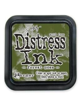 Distress Oxide Pad 3x3 Forest Moss
