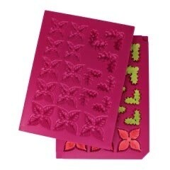 Shaping Mold-Christmas Poinsettia 3-D