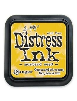 Distress Oxide Pad 3x3 Mustard Seed