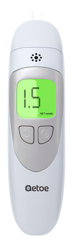 Qetoe Breath Monitor. plus Bonus Free 14 day Low Carb Meal Plan