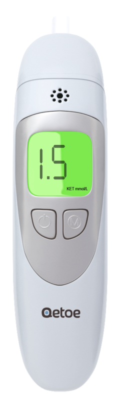 Qetoe Breath Monitor. plus Bonus Free 14 day Low Carb Meal Plan