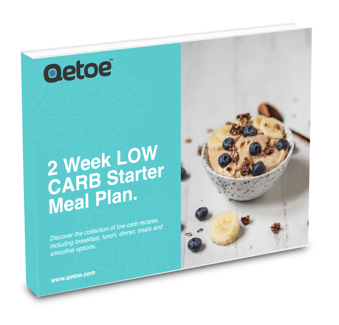 Qetoe 14 day Ebook Low Carb Starter Meal Plan