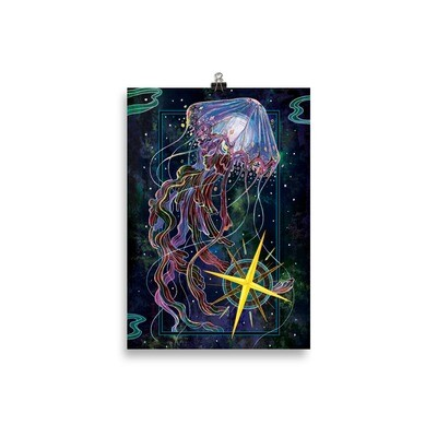 The Star Poster - 21×30 cm