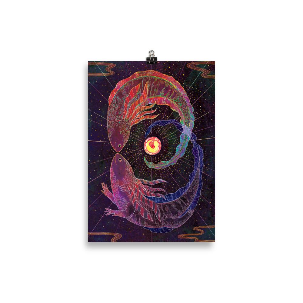 Death Tarot Poster - 21×30 cm