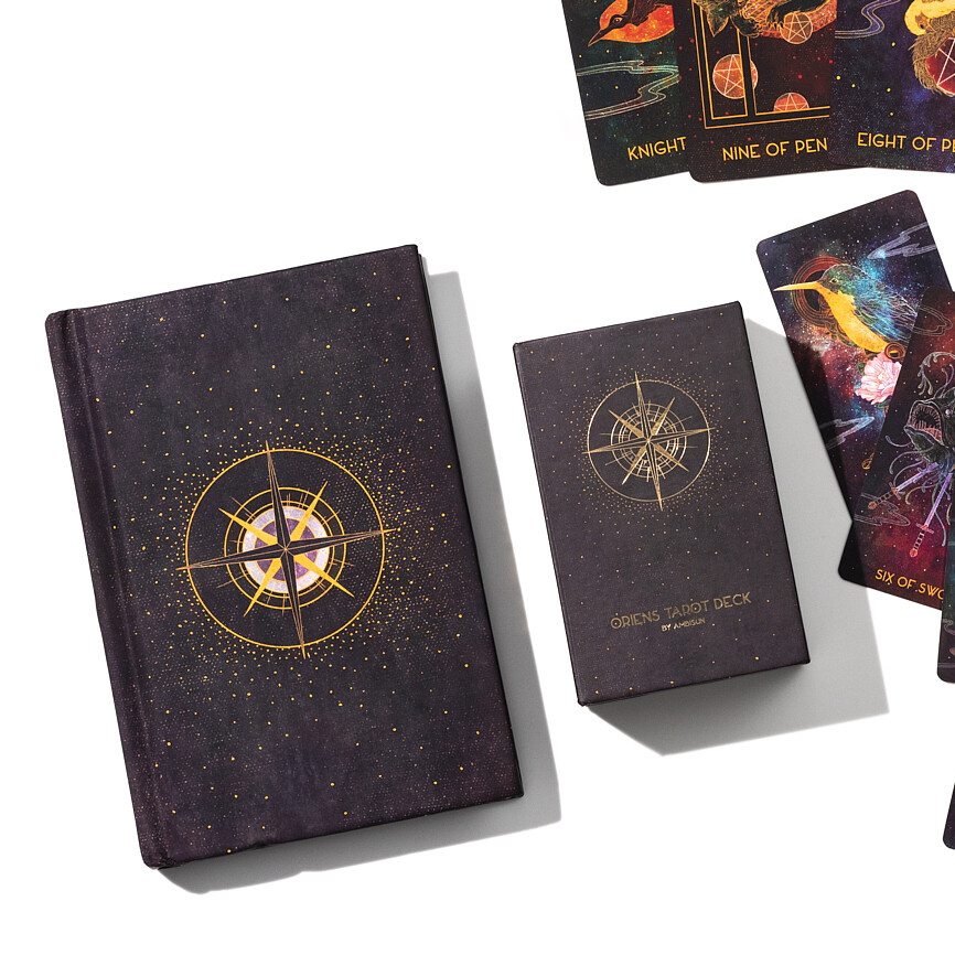 Oriens Tarot Mini Deck and Book Bundle