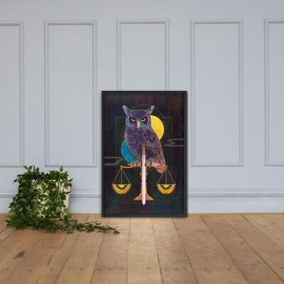 Justice Framed poster