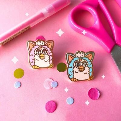 Furby Enamel Pins