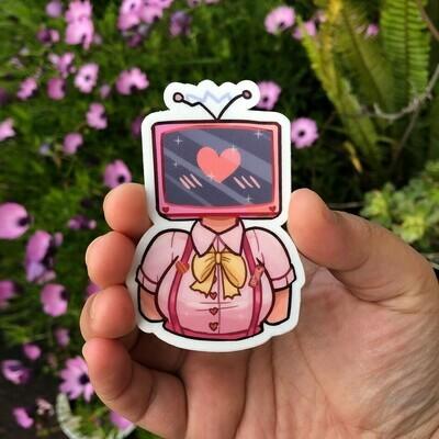 TV Girlfriend STICKER