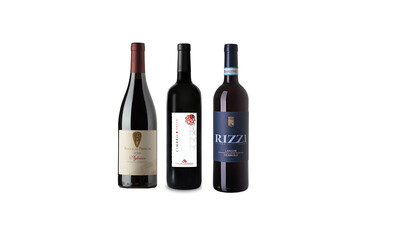 Classic red wines of Italy