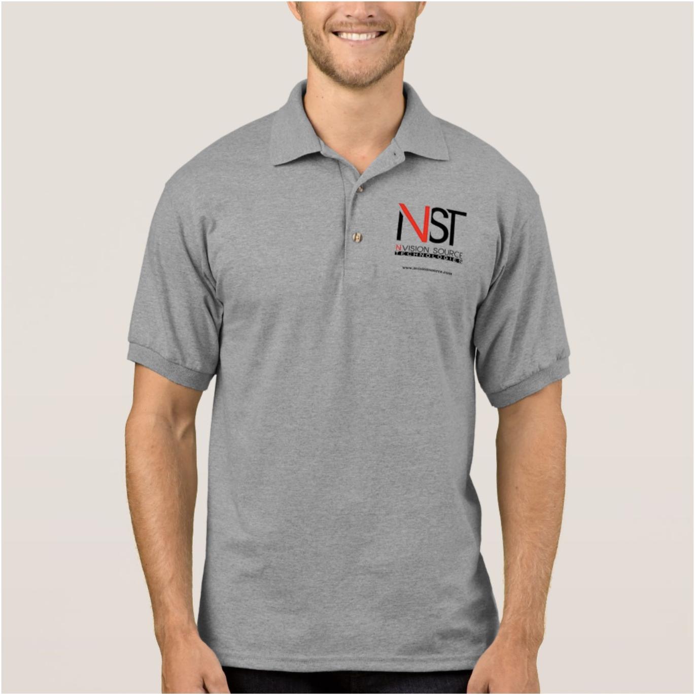 Men Gray Polo Shirt Uniform
