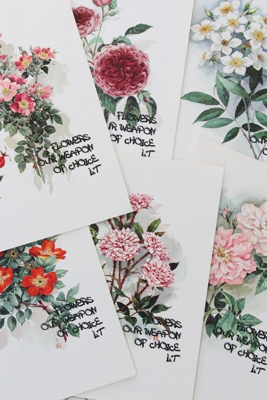 Hidden Flower Prints