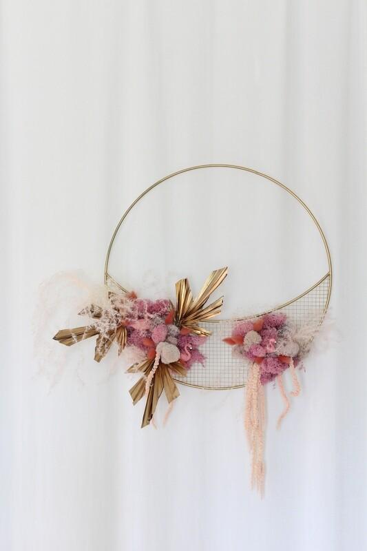 Wreath | Golden Flamingo