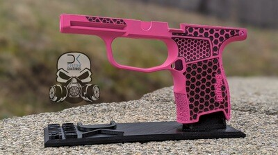 P365 Module with 1 Color Cerakote and Hexagon Stippling