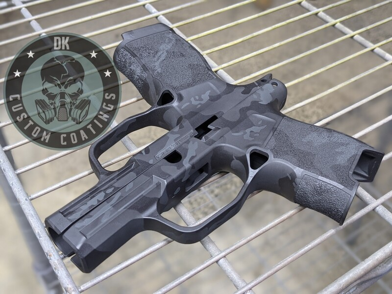 Sig Sauer P365 Module with our NEW Blackout Camo