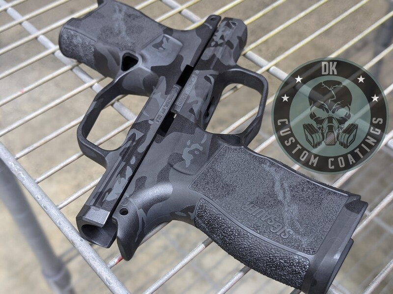 Sig Sauer P365 XL Module with our NEW Blackout Camo