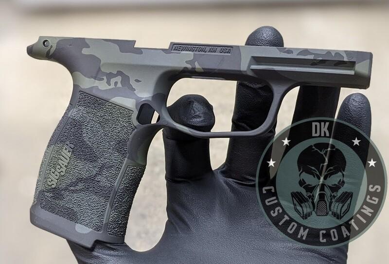 Sig Sauer P365 XL Module with DK Black Multicam Camo