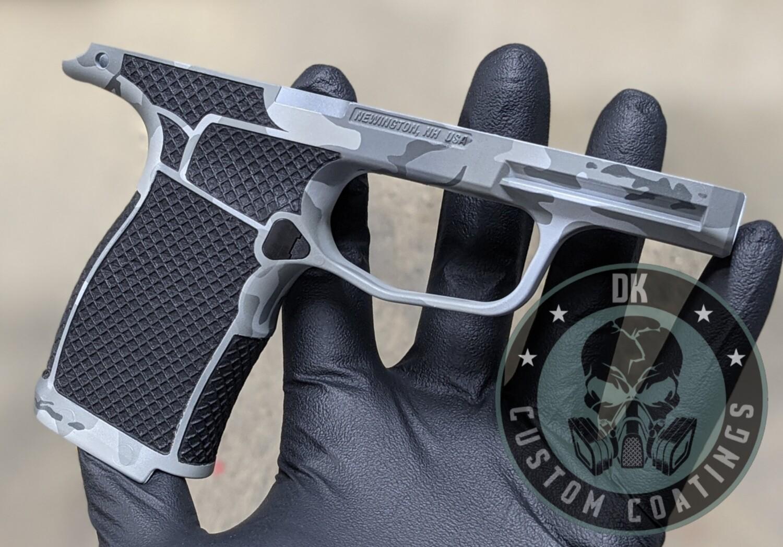 Sig Sauer P365XL Module - DK Dark Alpine Cerakote and Mesh Laser Stippling