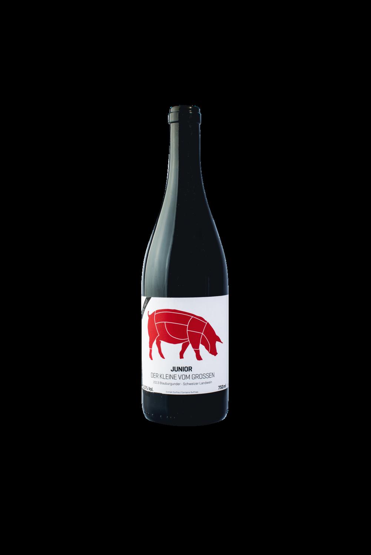 6 Fl.   2014 Junior - der Kleine vom Grossen, Pinot Noir, 75 cl (im Paket)
