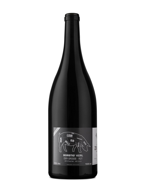 2018 Borstig' Kerl rot, Pinot Noir, 75 cl, auf Vorbestellung