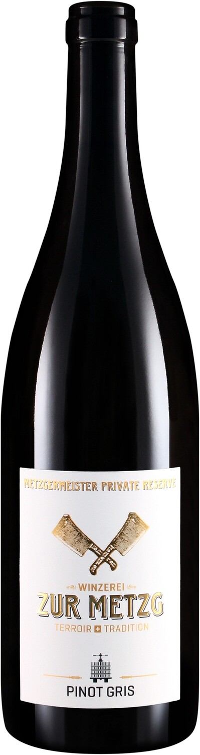 2017 Pinot Gris, Metzgermeisters private Reserve, 75 cl