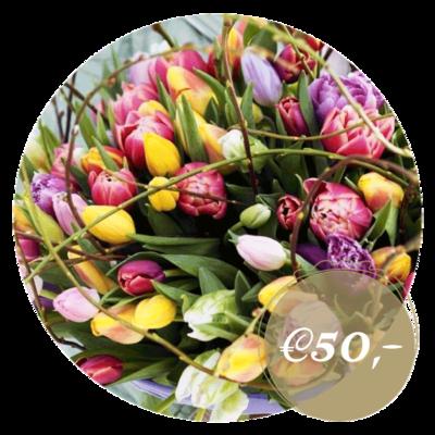 Tulpenboeket De Luxe