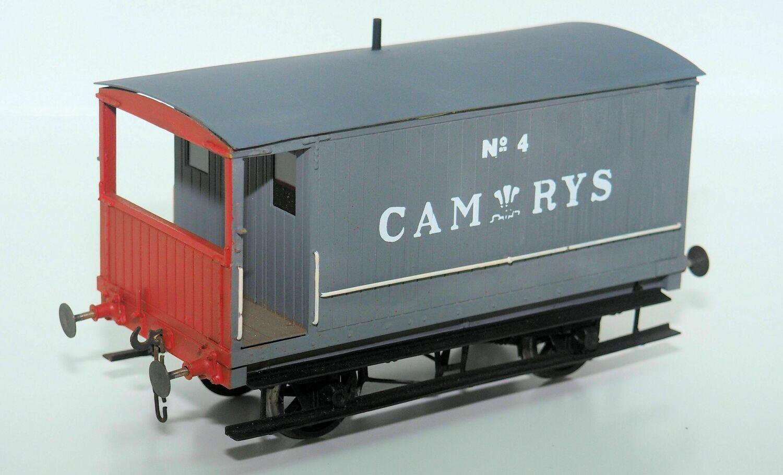 Cambrian Railways/GW Single Veranda Brake van
