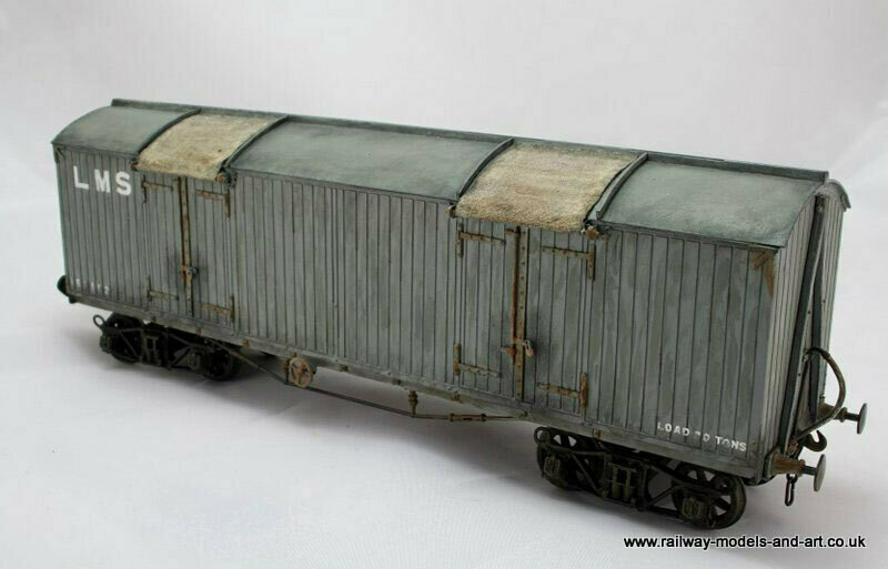 Lancashire & Yorkshire - LMS 30ton Bogie Box Van