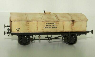GWR Drinking Water Wagon