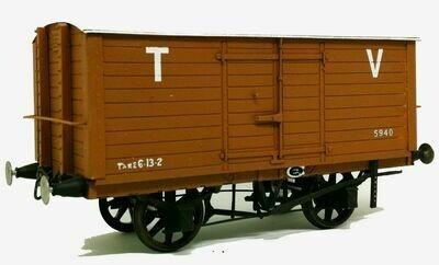 Taff Vale/Great Western 10ton Covered Van