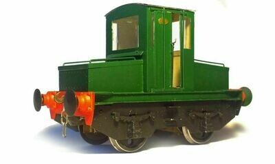 Greenwood & Batley 4W battery electric locomotive