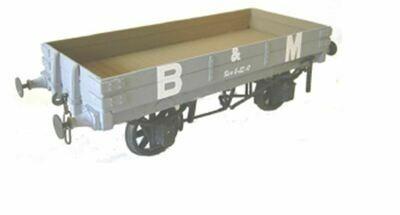 Brecon & Merthyr/GW 2 plank Open Wagon