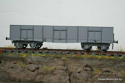 CC027 Caledonian Railway 30ton Bogie Coal wagon
