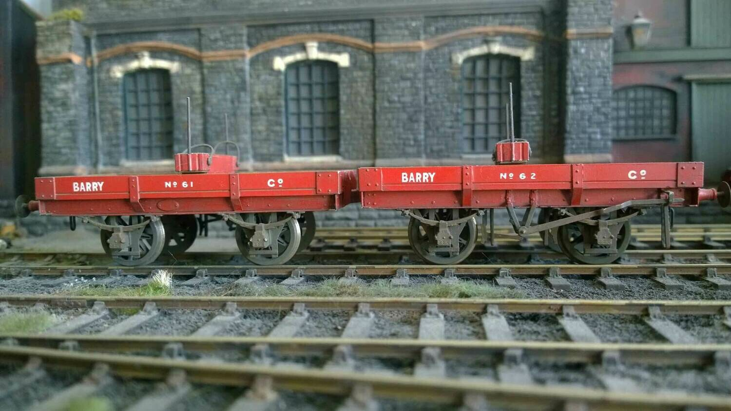 Barry Railway/GW Dia.60 Mite (sold as a pair)